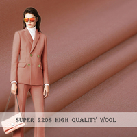 2018 NEW Worsted Mulberry Silk&Wool Fabric For Women coat,Width 150cm Blending Fashion cloth For DIY Sewing HOT Sale