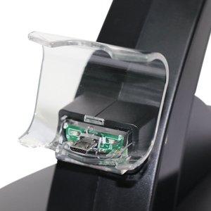 Image 3 - デュアル USB 充電ドックソニーのプレイステーション 4 コントローラゲームパッドハンドルクレードルダブル充電充電器 PS4 ゲームアクセサリー