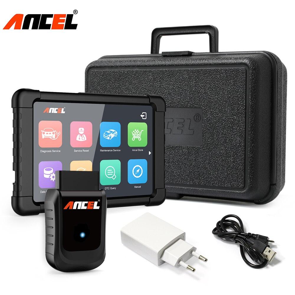 OBD2 Strumento Diagnostico Ancel X5 Più ODB WiFi Diagnostica Per Auto Sistemi Completi ABS Airbag Olio di Reset DPF TPMS ENG EPB A OBD 2 Scanner