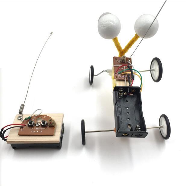 April Du Diy Children Science Experiment Toy Remote Control Robot Reptile Model Kit Electric Invention Kid Creative Education Cheap Sales Toys & Hobbies