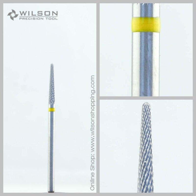 Cross Cut - Super Fine(5000107) - ISO 110 - Tungsten Carbide Burs - WILSON Carbide Nail Drill Bit&Dental Burs