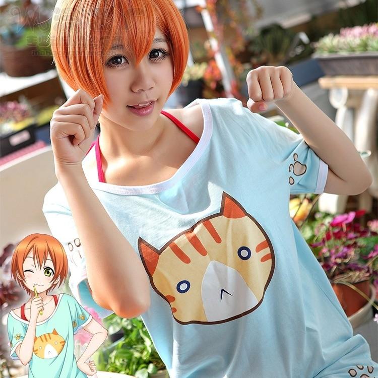 Hoshizora Rin Cosplay  (8)