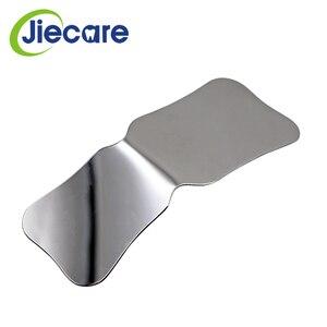 Image 4 - Espejos de fotografía de acero inoxidable para dentistas, Reflector de ortodoncia Intra Oral de doble cara, lavable con autoclave, 1 unidad