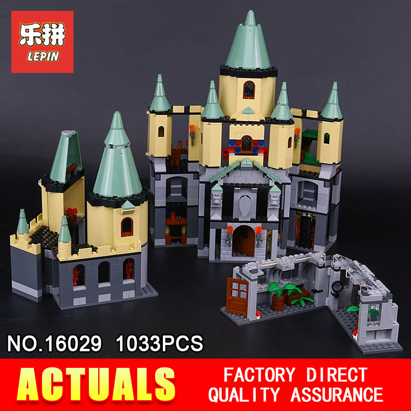 Lepin 16029 1033Pcs Movie Series The magic Hogwort Castle Model set Building Blocks Bricks Educational Toys for Children 5378 hot sale 1000g dynamic amazing diy educational toys no mess indoor magic play sand children toys mars space sand