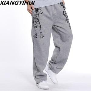 Image 2 - גברים הרמון tactica מכנסיים עבה קטיפה מזדמן שקוע כותנה מכנסיים גברים מכנסיים בתוספת גודל ספורט מכנסיים Mens רצים רגליים pants5XL