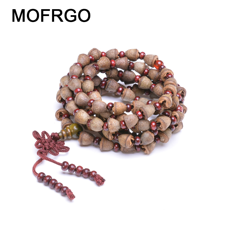 Nepal Admiralty Bodhi Bracelet 108 Tibetan Buddista Rosario Collana Natural Fragrance Mala Healing Prayer Bracelet for Men Women