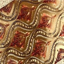 Nowoczesne Tapety Kwiatowy Europejski Styl Złota Folia Adamaszku Tapety na Ścianach, czerwony Tapeta 3D Tłoczone Papieru Kontakt dla KTV