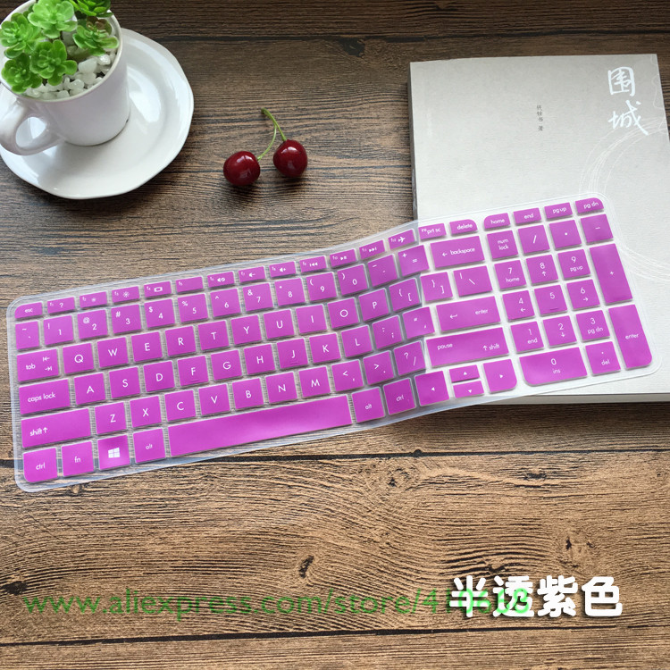 Keyboard Silicone Skin Cover Protector for HP Pavilion M7-1000 M7-1078ca laptop