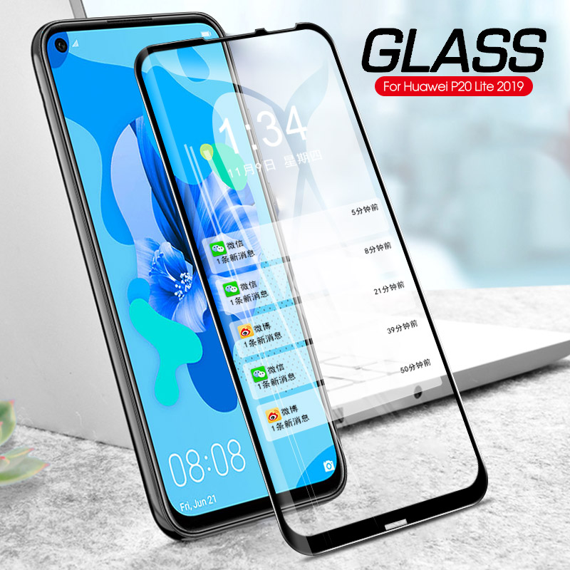 3D Full Tempered Glass For Huawei P20 Lite 2019 P20 Pro P Smart Z P Smart Plus 2019 Nova 5i Screen Protector Cover Front Film