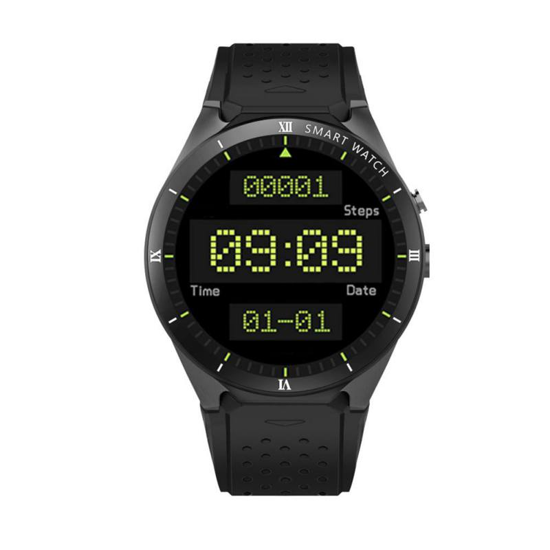 KINGWEAR KW88 Cámara grabación 3G/WIFI Smartwatch teléfono GPS podómetro asistente de voz para IOS Sensor de gravedad Android podómetro - 3
