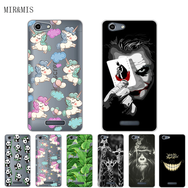 For Highscreen Power Rage Evo 5.0 Inch Phone Case Soft Tpu Silicone Cover Protective Printed Funda For Highscreen Power Rage Evo