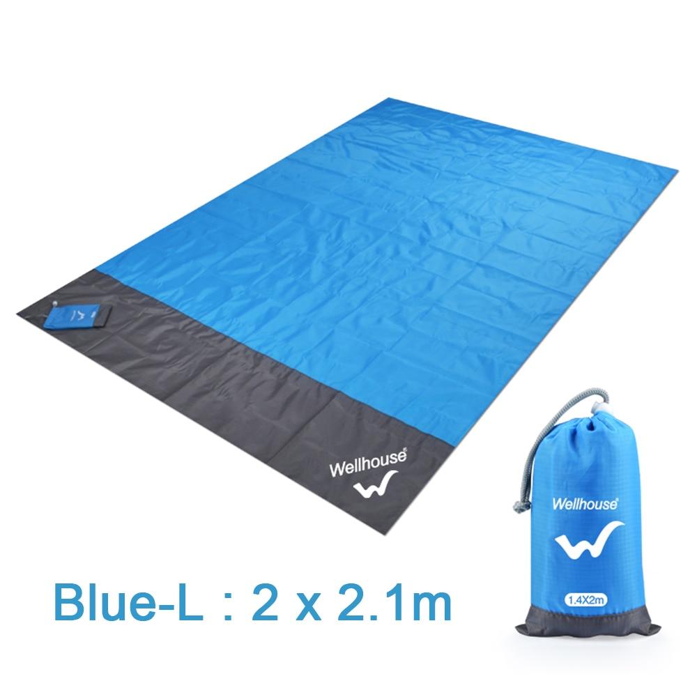 Beach Blanket Portable Outdoor Camping Mat Waterproof Picnic Mat Ground Baby Sleeping Mattress Foldable Moistureproof Tent Mat