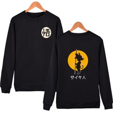 Anime Dragon Ball Z Goku Hoodies Sweatshirts 2019 Spring Fleece hoodie Sweatshirt Fashion Hipster Sportsuit Tracksuit
