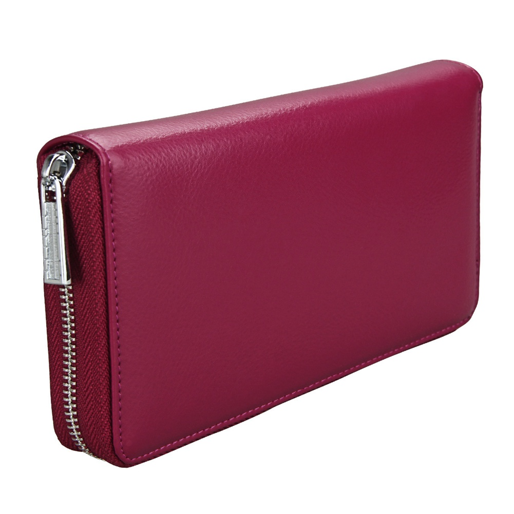 Men Credit Card Wallet Genuine Leather RFID Wallet Money Storage Large Capacity Purse Popular