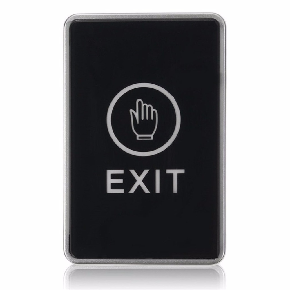 LESHP Push Touch Sensor Exit Button Security Access Control System Door Exit Release Button With LED Indicator Light for HomeLESHP Push Touch Sensor Exit Button Security Access Control System Door Exit Release Button With LED Indicator Light for Home