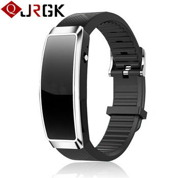 recording smart watch Men Wristband recorder 8GB With headphones Suitable for student business meetings MP3 WMA WAV