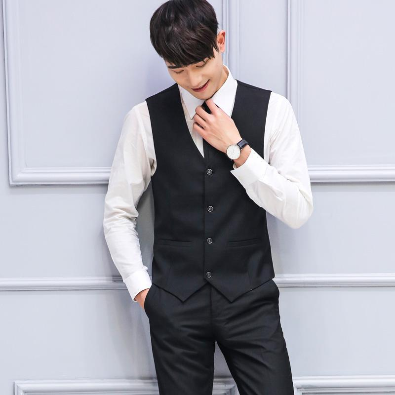 ZEESHANT Top Seller Spring Autumn New Man Suit Vest Fashion Slim Fit waistcoat Tops Men Wedding Vest Suits Free Shipping