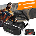 "New VR Shinecon II 2.0 Helmet Cardboard Virtual Reality Glasses Mobile Phone 3D Video Movie for 4.7-6.0"" Smartphone with Gamepad"