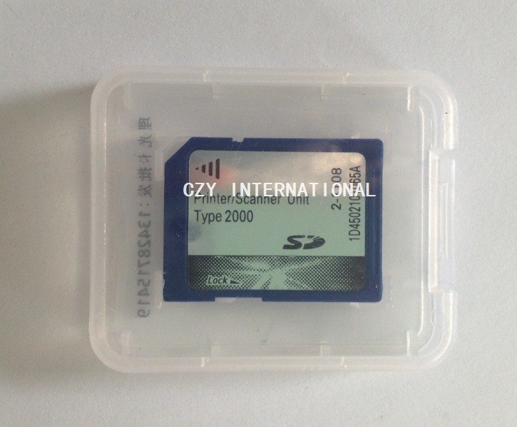 For Richo MP2000,MP2500 printer card scanner kit sd card