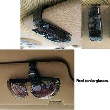 Universal Car Accessories Sun Visor Glasses Sunglasses Ticket Receipt Card Clip Storage Holder 9449 7801