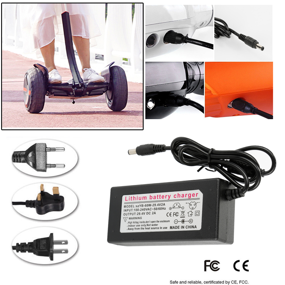 UK Plug fast Charger Power Adapter For Swegway Hover board Balance Board UK HOT