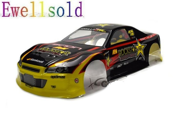 Ewellsold 110 Pvc Painted Body Shell For 110 Rc Racing On Road
