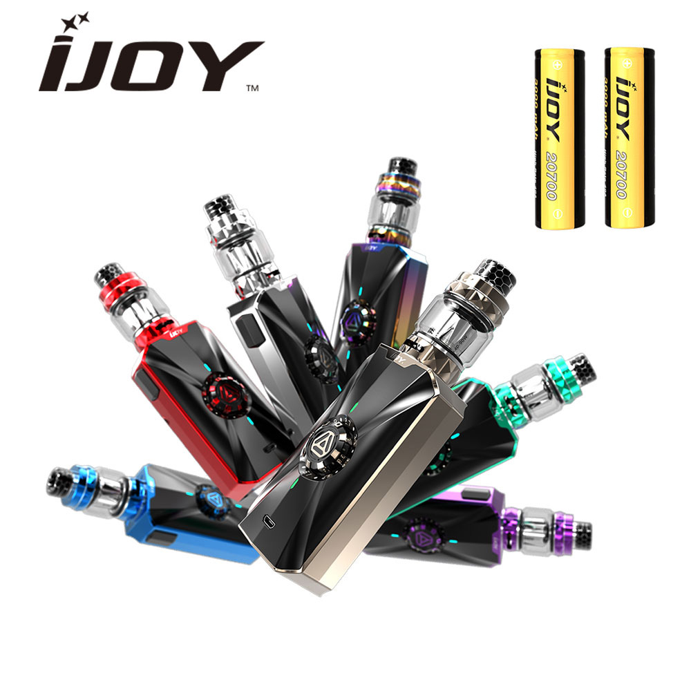 100% Original IJOY Zenith 3 VV Kit 360W Mod with Diamond Subohm Tank 5.5ml/4ml & Dual 20700 Battery & DM-MESH/DM Coil Vape Kit original ijoy saber 100 20700 vw kit max 100w saber 100 kit with diamond subohm tank 5 5ml
