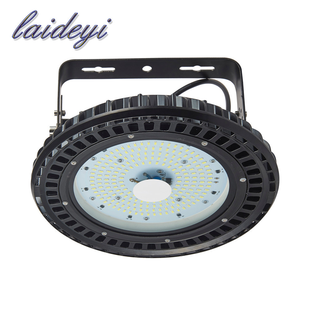 LAIDEYI 5PCS High Brightness Industrial 150w Led High Bay Light Fixture IP54 Highbay Led Light UFO Led High Bay Light 18000LM 150w ufo led high bay light 6000k 20000lm ip65 retrofit highbay lamp fixture led warehouse light