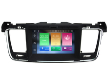 Octa(8)-Core Android 6.0 CAR DVD player FOR PEUGEOT 508 car audio gps stereo head unit Multimedia navigation