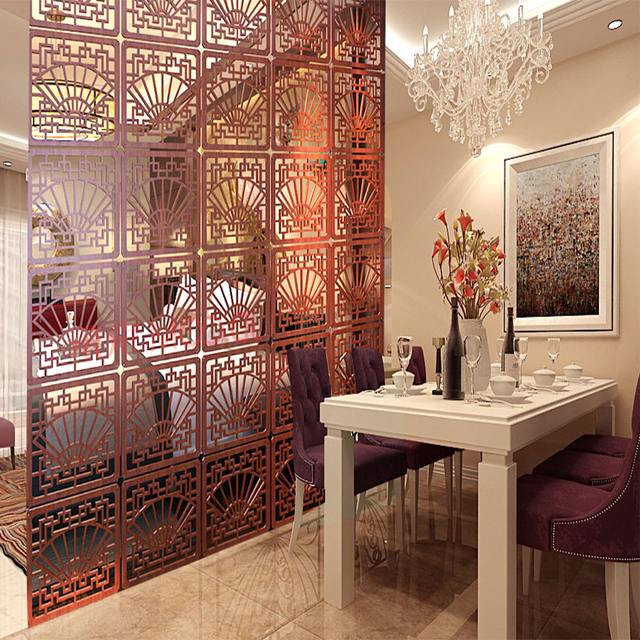 Escudo para habitaciones biombo divisor Paravent decoracin