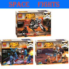 Lepin Pogo Bela Space Star Wars Royal Shadow Aircraft Clone Troopers Darth Vader Building Blocks Bricks Compatible Legoe Toys