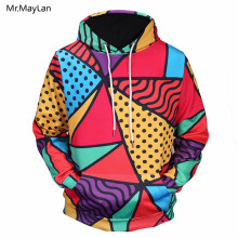 Hipster Colorful Printed 3D Print Jackets Men/Women Fashion Long Sleeves Pullover Hoodies Boys Streetwear Loose Sweatshirts Coat