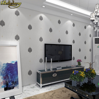 beibehang Modern Simple flower wallpapers for Living room bedroom TV background wall paper wall paper wallpaper for walls 3 d