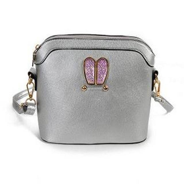 2016 Women's Messenger Bags  Fashion Women Girl Rabbit Ears Sweet Shell Handbag Ladies Shoulder Bag bolsa feminina para mujer#25