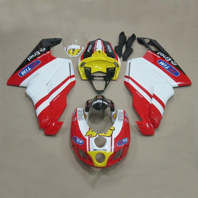 Планы, чтобы настроить для Ducati 999 749 2005-2006 литья под давлением ABS пластик мотоциклов Обтекателя Kit Кузов Д14