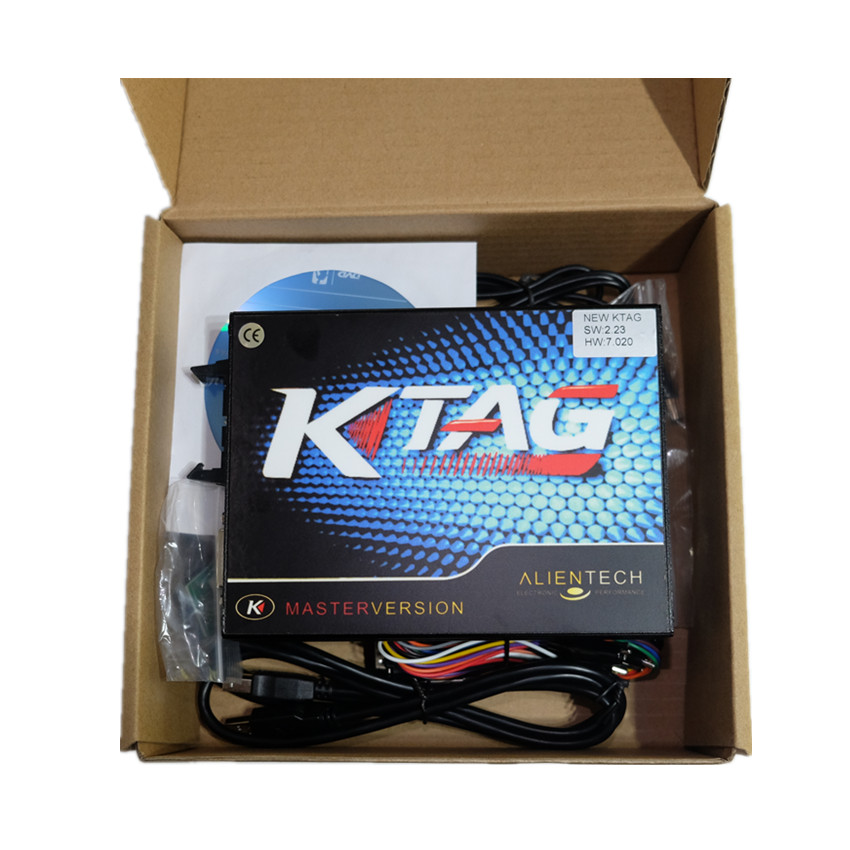 Image 5 - 2019 Newest KTAG V7.020 SW V2.23 Online Master Version KTAG 7.020+Gift 100% No Token Tuning For Car Truck ECU Programming Tools-in Code Readers & Scan Tools from Automobiles & Motorcycles