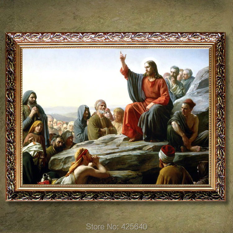Home Interior Jesus: ᐃHome Decor Jesus Christ Painting ༼ ộ_ộ ༽ Jesus Jesus Save