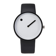 купить Top Brand Creative Quartz Watch Men Luxury Casual Black Japan Quartz-watch Simple Designer Fashion Clock Male Buckle дешево
