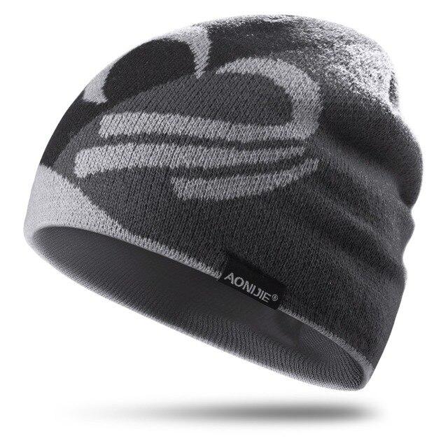 AONIJIE Men Women Knit Beanies Outdoor Sports Running Jogging Skiing Cycling Marathon Hiking Camping Winter Autumn Hat Cap