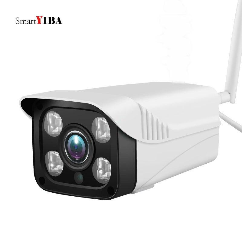 SmartYIBA 720P IP Camera 360 Degree CCTV Camera APP Control WIFI Camera Outdoor 1MP Waterproof Smart Security Camera Intercom