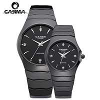 Casima Luxury Brand Watches Men Women Couple Lover S Wrist Watch Ceramic Casual Quartz Watch Clock