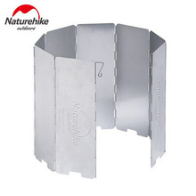 Naturehike Camping Stove Windscreen Foldable Cooking Windshield Outdoor Gas Accessories Windproof Folding Screen