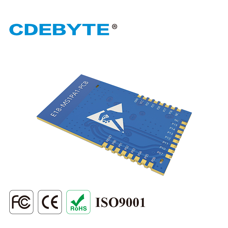 Image 5 - E18 MS1PA1 PCB Zigbee IO CC2530 PA 2.4Ghz 100mW PCB Antenna IoT uhf Wireless Transceiver Transmitter and Receiver RF Module-in Communications Parts from Cellphones & Telecommunications