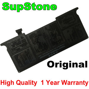 "Image 1 - SupStone Genuine OEM A1406 A1495 Battery For APPLE Macbook Air 11"" inch A1465 Mid 2012 2013 Early 2014 A1370 Mid 2011 MC968LL/A"