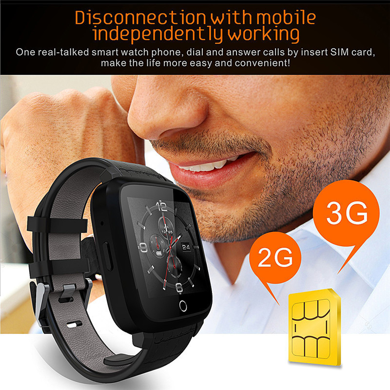 U11S 3G Smartwatch MTK6580 Quad Core WIFI Smart Bracelet 8GB LCD Support MIC Heart Rate Monitor Camera Flash for Android & IOS simcom 5360 module 3g modem bulk sms sending and receiving simcom 3g module support imei change