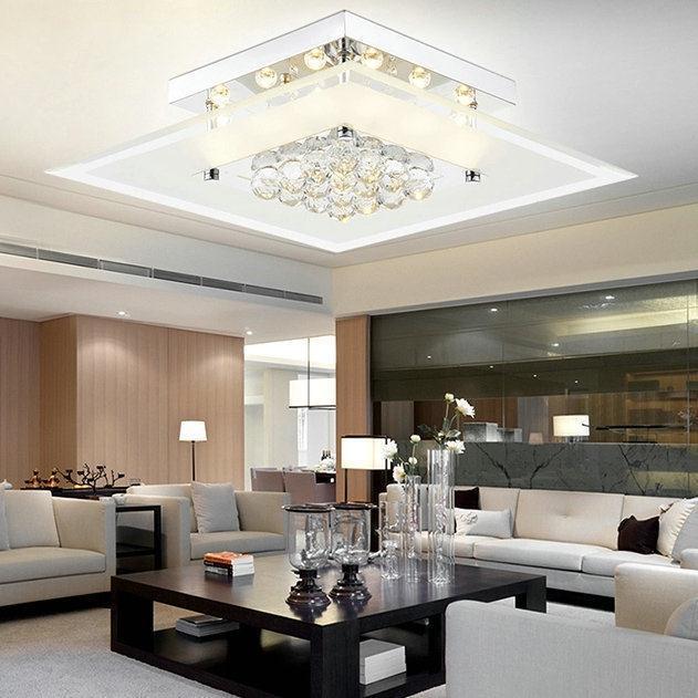 Cuadrado moderno luz de techo lamparas de techo luminaras párr sala home deco accesorio de iluminación.jpg
