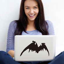 A Flying Bat Cool Design Computer Sticker Removable Vinyl Adhesive Wall Laptop S