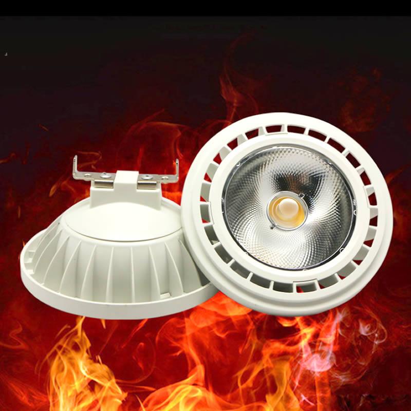15W 20W AR111 LED Spotlights bulb light 220V-240V G53 ES111 QR111 LED lamp Warm white/Cold white dimmable freeshipping