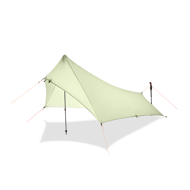 Ultra Light Rain Fly Tent Tarp Waterproof 20d Silicone Coating Nylon Camping Shelter Canopy Rainfly Lightweight