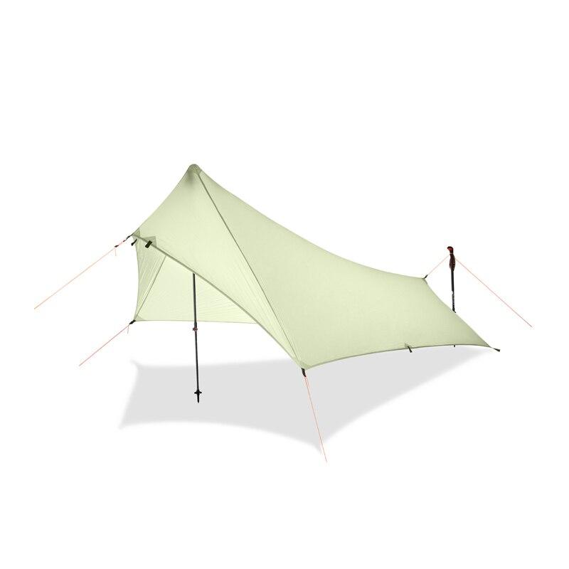 Bâche de tente de mouche de pluie Ultra légère, imperméable 20d revêtement de Silicone